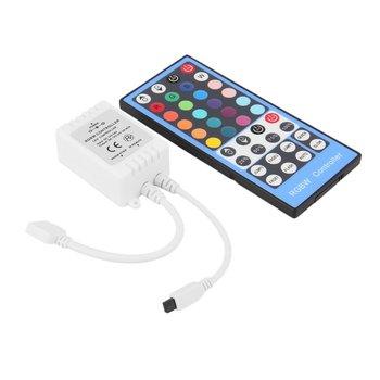 DC12-24V control remoto LED RGBW de 40 teclas para tira de luces LED RGBW JA55