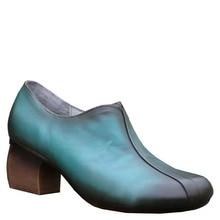 Высокое качество Женские весна-осень обувь из натуральной кожи на шпильках; женские туфли-лодочки ручной работы на высоком каблуке телесного цвета; 19651