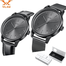 Mens Watches Top Brand Luxury Fashion Watch male clock Quartz Stainless Steel mesh strap Ultra Thin Wrist watch with gift box