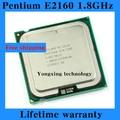 Lifetime warranty Pentium E2160 1.8GHz 1M 800 Dual Core desktop processors CPU 2160 Socket LGA 775 pin Computer Free shipping