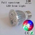 Full spectrum led cresce a luz 10 w e27 para floração crescimento de mudas de frutas, Sistema de hidroponia, crescer tenda