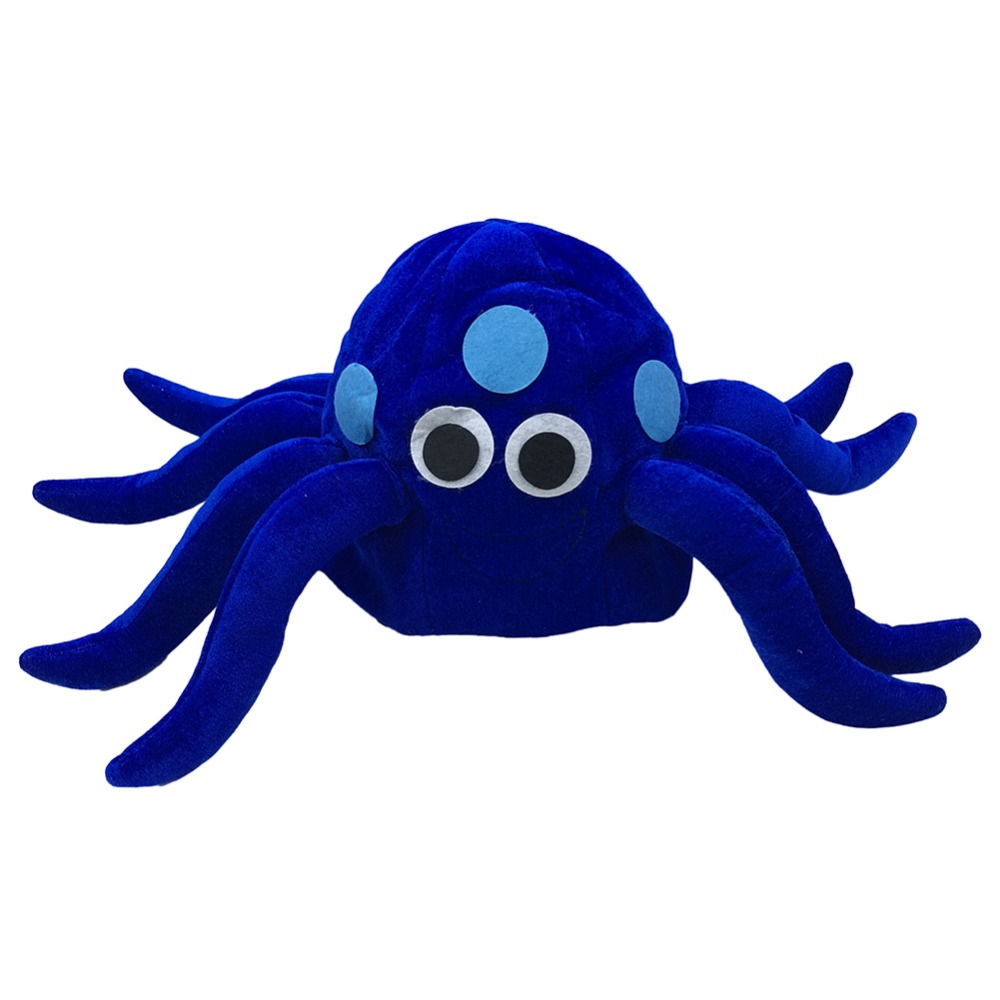 New Funny Blue Tentacle Octopus Hat Halloween Party Festival Cosplay Caps Prop Christmas Gift