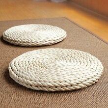 Giardino di Mais Pad Cuscino Tatami Finestre Pavimento Murales Stuoie di Meditazione Yoga Paglia Materasso Cuscino Tessili Per La Casa Murales Accessori