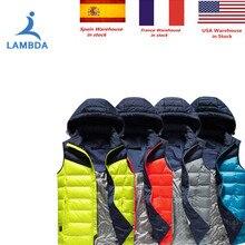 LAMBDA 2019 nuevo de las mujeres de los hombres eléctrico chaleco  calefacción chaleco térmico caliente ropa 401101d8fbf