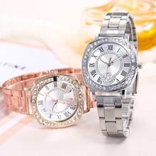 New Arrival Irregular Shape Quartz Watch Fashion Luxury Style Bracelet Clasp Stainless Steel Watches H