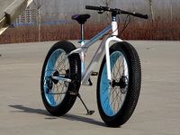 Wz05 Free Shipping Folding Personalized Bicycles Beach Snow Bike 7 Speed 26 Inch 4 0 Large