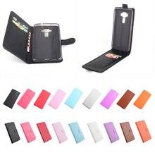 Litchi вверх-вниз для Asus Zenfone 3 Lite ZE520KL случае Хорошее качество кожа силиконовый чехол для ASUS ZE520KL Крышка корпуса мобильного телефона