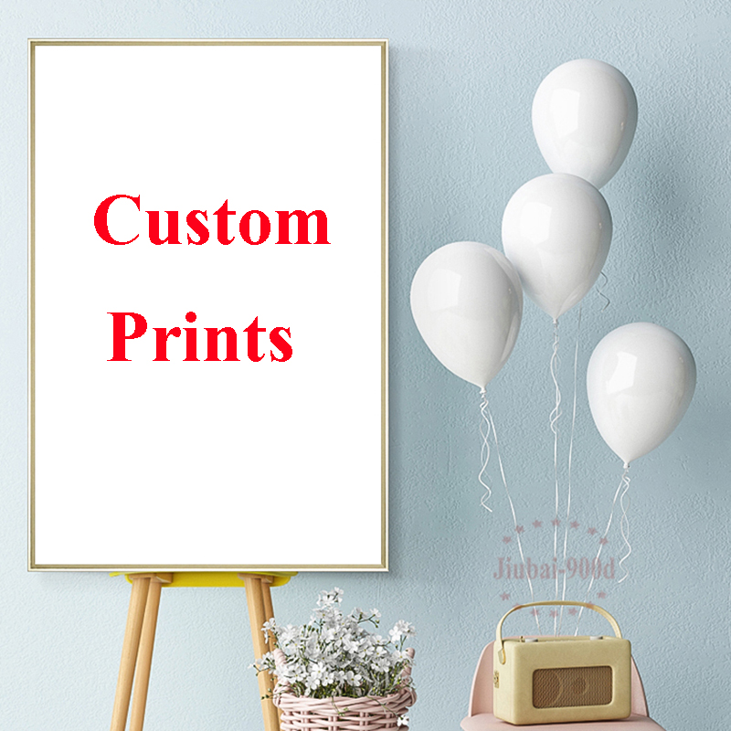 900D Custom Canvas Poster Digital Photo Landscape Printed Painting High Quality Canvas Customized Pictures For Wall Home Decor