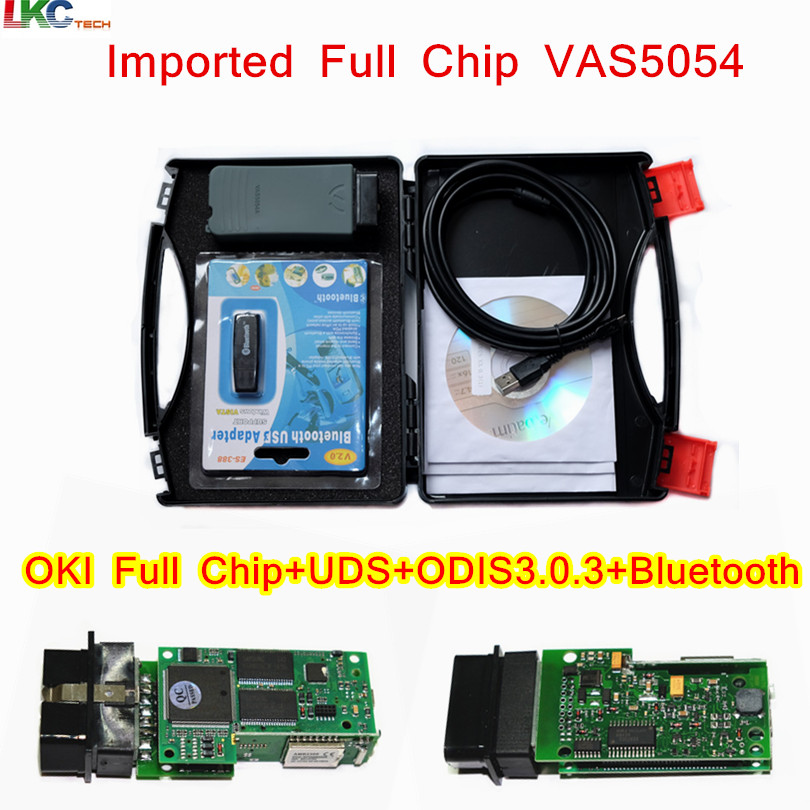 5pcs Lot DHL Imported Full Chip OKI VAS 5054A ODIS V3 0 3 4 0 0