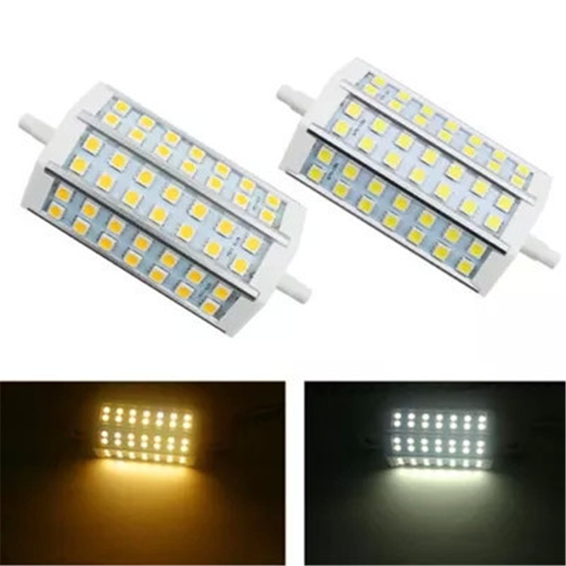 1x r7s led lamp 5050 smd 78mm 118mm 138mm 189mm 12w 20w 25w 30w corn bulb spotlight replace for R7s led 118mm 20w