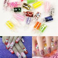 48Colors 3D Nail Art Rhinestones Glitters Acrylic Tips Decoration Dating Party