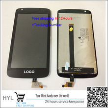Original Black Touch Screen Glass LCD display  Digitizer  For HTC Desire 326 326G D326 free shipping