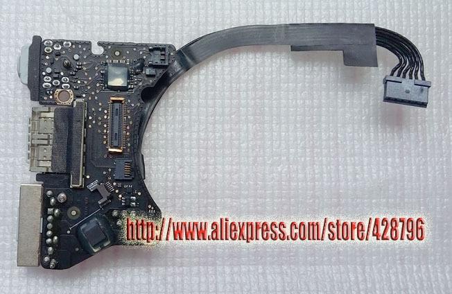 "820-3213-A Originalios USB maitinimo plokštės Mbook Air 11 ""A1465 2012 MD223 MD224"