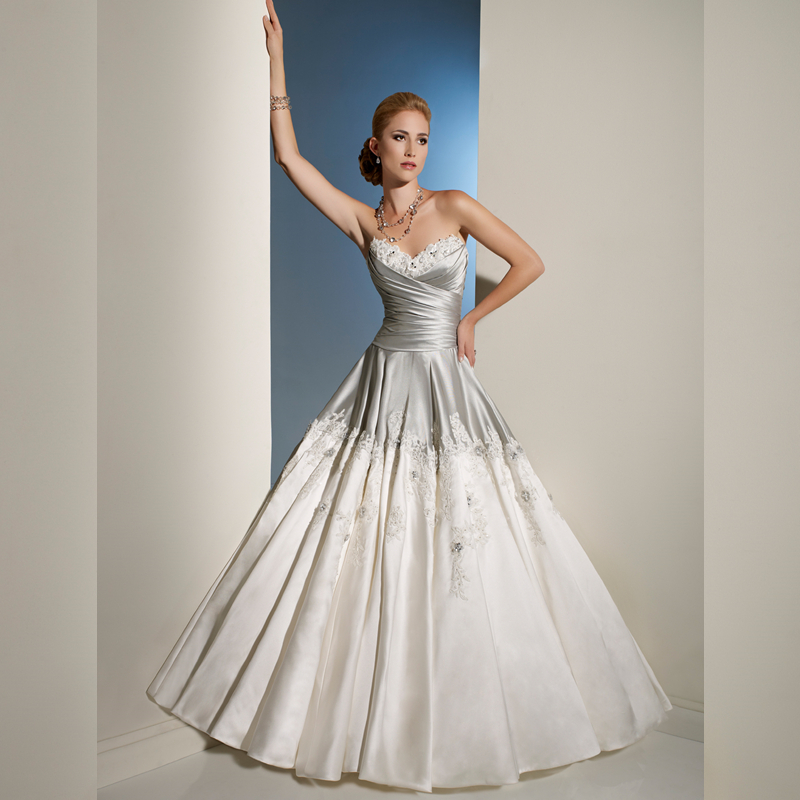 Compare Prices on Silver Ball Gown Wedding Dresses- Online ...