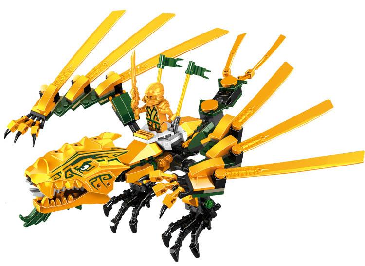 Compatible With Lego Ninjagoes 70503 Lele 79112 252pcs Blocks