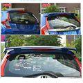 Автомобильные аксессуары  Новый АБС-пластик  Неокрашенный задний багажник  багажник  крыло  задний спойлер на крышу для Honda Fit Jazz 2014 2015 2016 2017