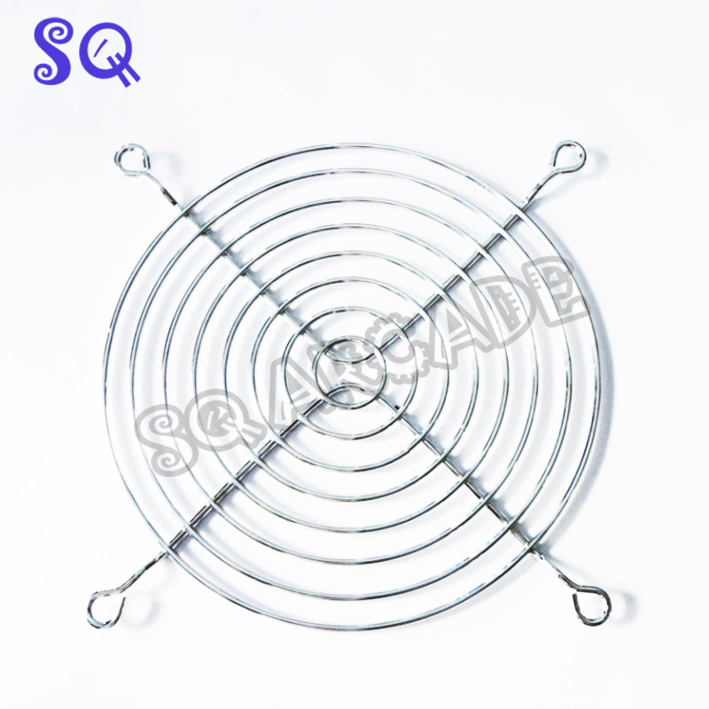 Coin Operated Games Just 10pcs/lot Pc Dc Fan Grill Protector Metal Finger Guard 120mm 12cm Silver Tone 2016 New Entertainment