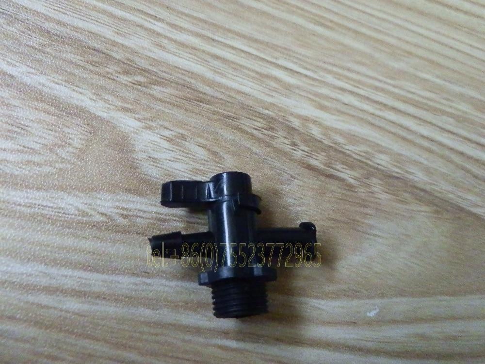 black 3-way valve printer parts valves