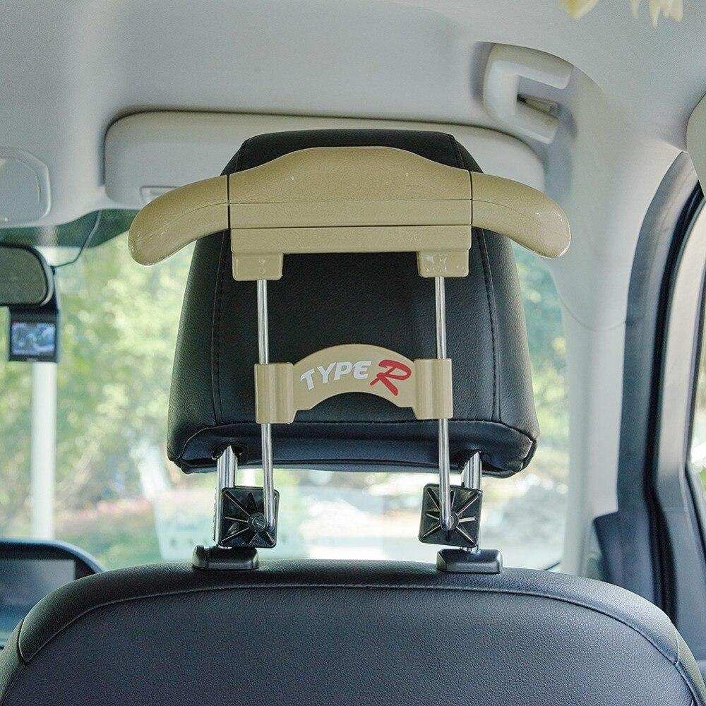 coats etc. jackets Car seat hanger universal head rests car seat Car coat hanger for suits