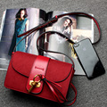 Роскошный замок сумки женщин натуральной кожи женщин сумки на ремне лоскут дамы crossbody сумка из натуральной кожи сумка