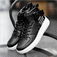 Hot sale 2018 free shipping New forceing 1 one men casual shoes goods quality AF1 black white with size 36 45 Sapato Feminino