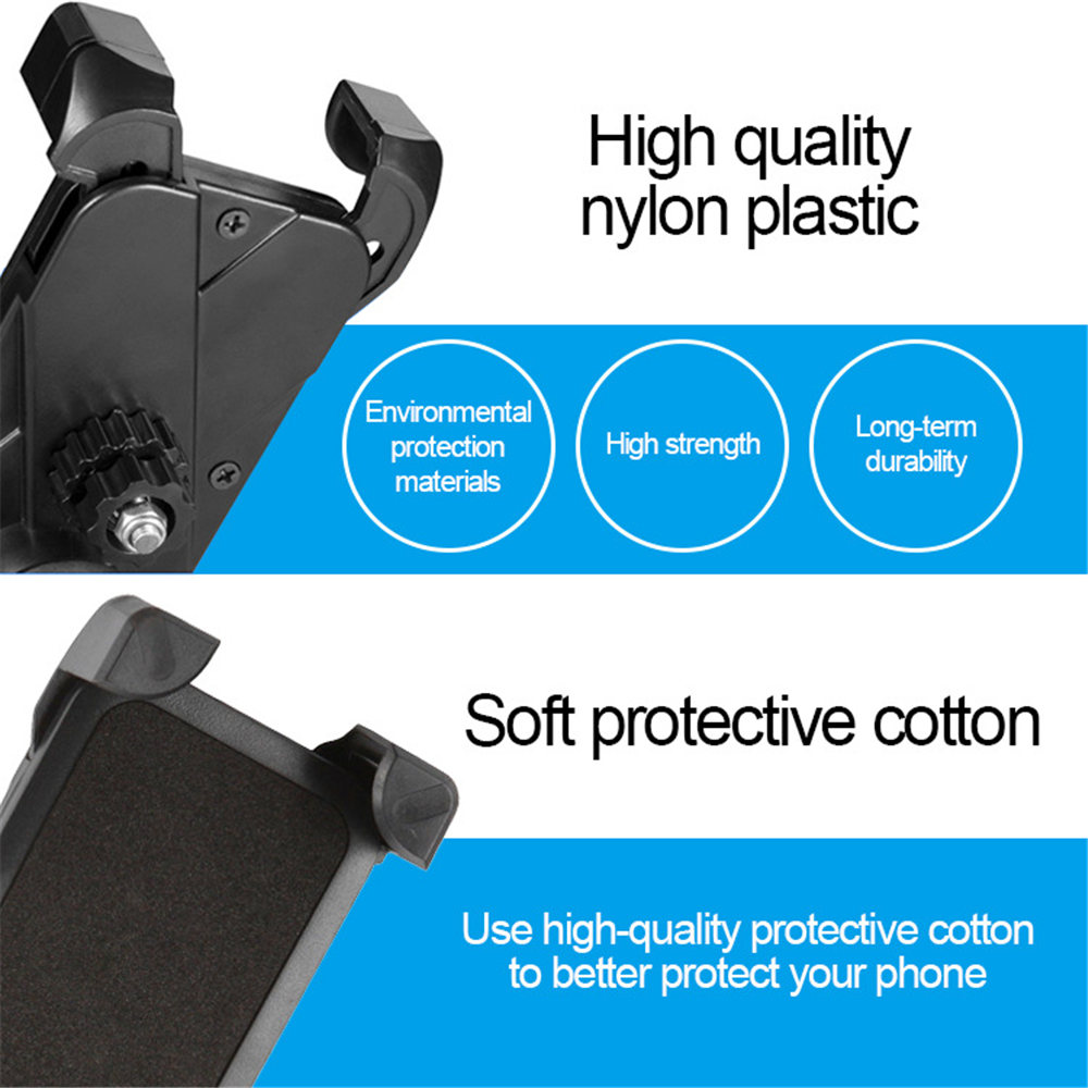 Adjustable Bicycle Phone Holder Made Of PVC Material For Universal Mobile Cell Phone 8