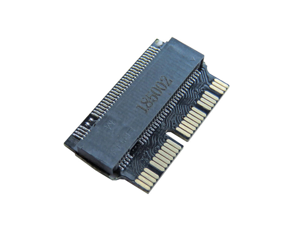 PCIE to <font><b>M2</b></font> <font><b>Adapter</b></font> SSD <font><b>M2</b></font> NVMe and AHCI M.2 NGFF PCIe SSD for late 2013 2014 2015 2017 <font><b>MacBook</b></font> Air A1398 A1465 A1466 M.2 <font><b>Adapter</b></font> image