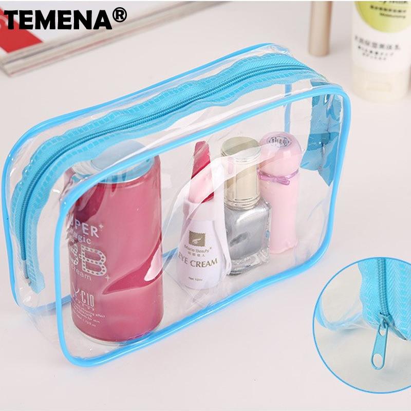 necessaries Makeup organizer Toiletry bag for women men Travel kits make up Cosmetic Bag ...