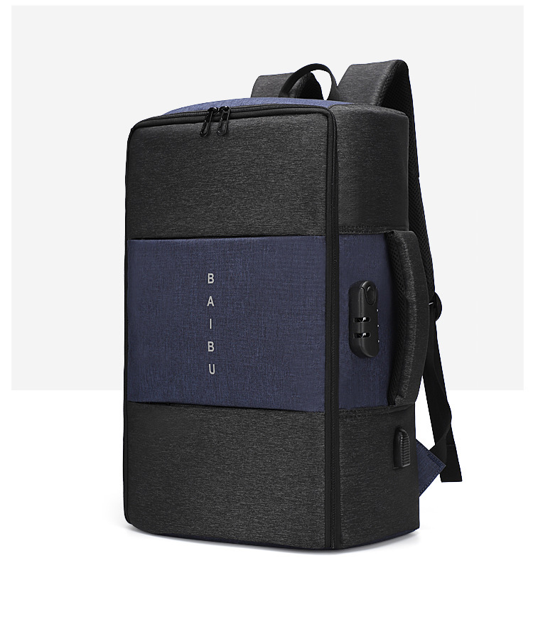 Мужской рюкзак, новинка, анти-вор, многофункциональный, водонепроницаемый, 17 дюймов, USB, рюкзак для ноутбука, дорожная сумка, мужской рюкзак для багажа