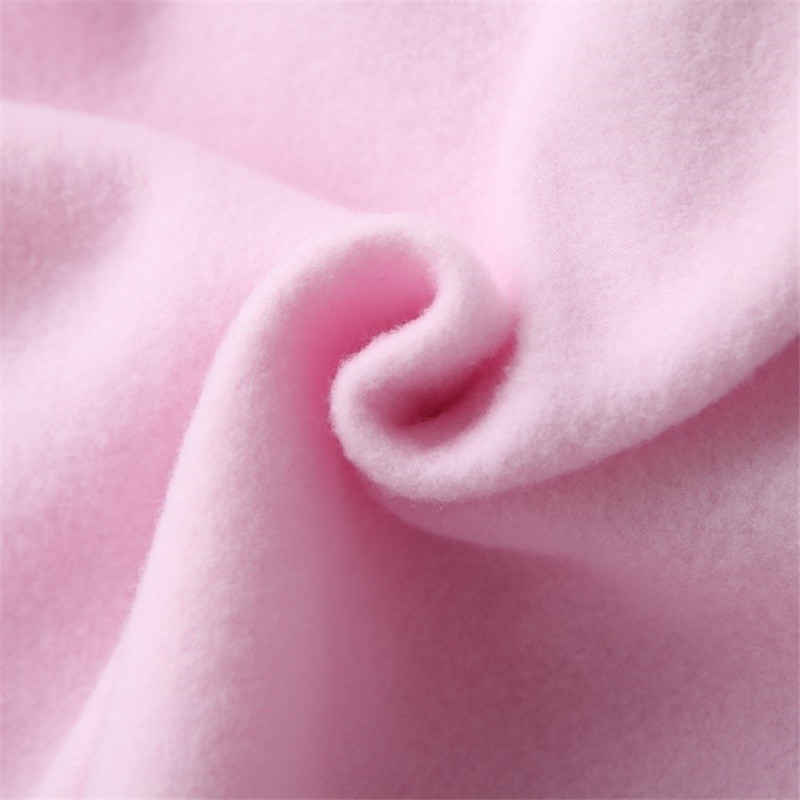 Hooded Tops Women's Sweatshirt Long-Sleeved Winter Velvet Thickening Coat 69