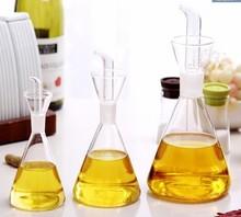 1PC eco-friendly oil and vinegar bottle cruet glass 250ml olive bottles dispenser X0004