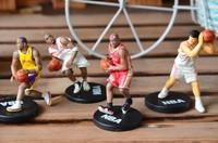 Mini 5 7cm Basketball Star Yao Ming Kobe Bryant James Madison Dolls Star Doll Model Doll