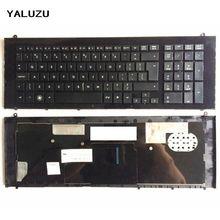 YALUZU UI Black New English Replace laptop keyboard FOR HP F