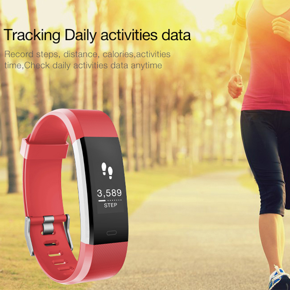 teamyo id115 plus heart rate monitor pulsometro smart bracelet