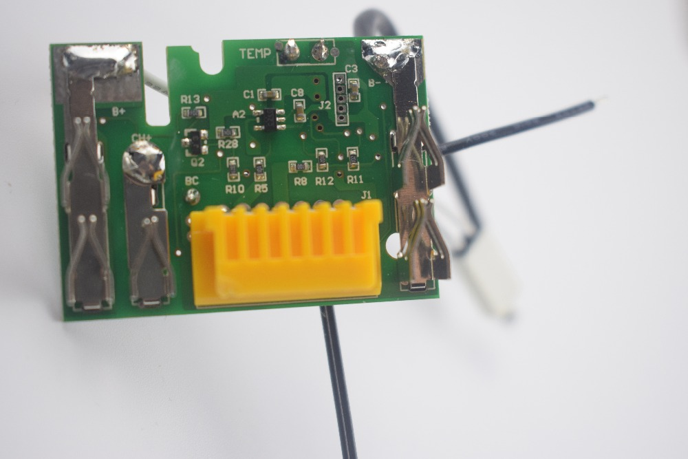 Makita Lithium Ion battery circuit board for  tool Makita BL1430(14.4V 3.0Ah/4.5Ah) 10pcs 12v 10a 3s li ion lithium battery cell 50x21x1mm lithium battery protection board circuit board module for 3pcs 18650
