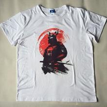 Samurai Warrior Hipster O-Neck T-Shirt