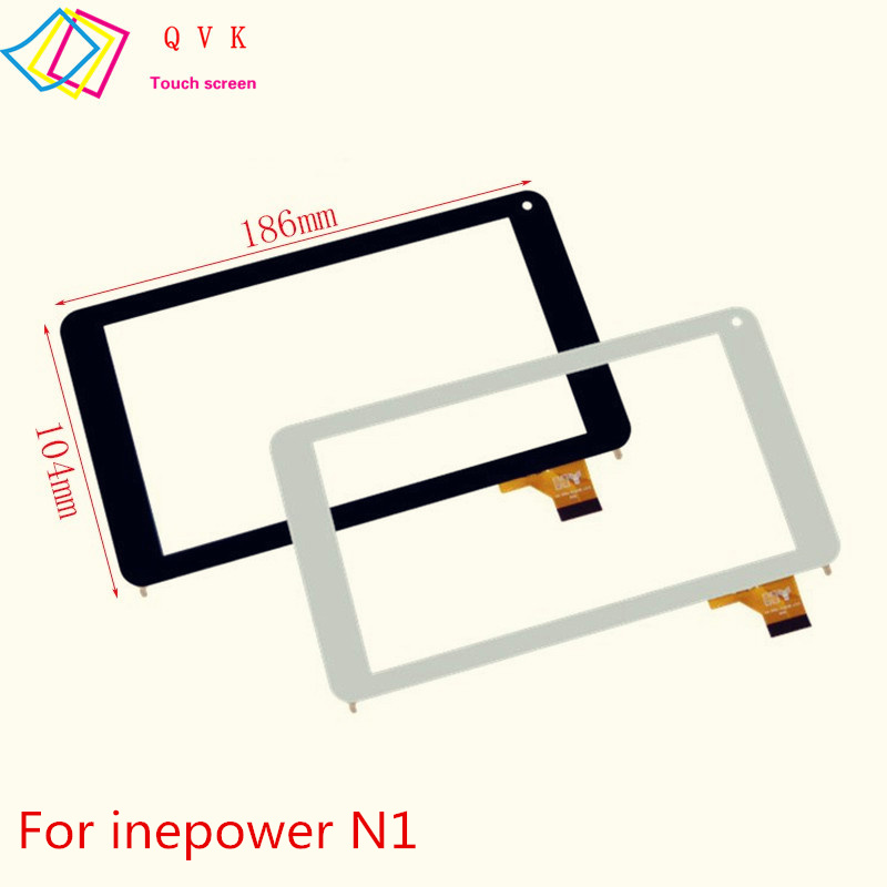 Black White for Finepower N1 E1 E2 E3 E4 E5 A1 A3 B3 Capacitive Touch Screen Panel Repair Replacement Spare Parts Free Shipping