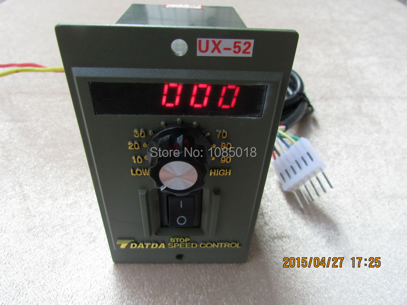Buy free shipping ux 52 digital speed Speed control for ac motor