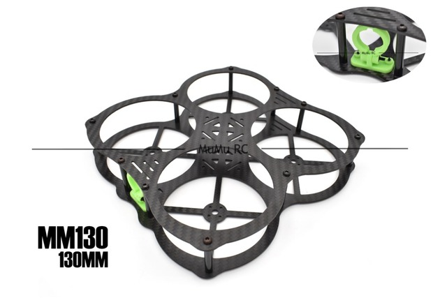 MM130-O MM130 ММ 130 130 мм 1.5 мм Толщиной Углеродного Волокна Рама Комплект Для FPV Cross Racing Drone Quadcopter