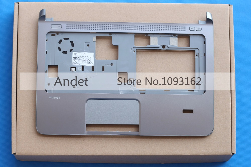 New Original for HP ProBook 430 G1 Palmrest Keyboard Cover Touchpad 744009 501 744009 001 for hp probook 640 g1 650 g1 motherboard socket 947 hm87 ddr3l tested working