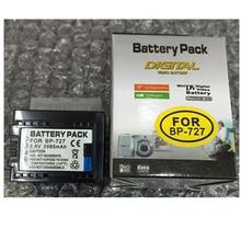 BP-727 BP 727 Digital Camera Battery BP727 For Canon Cameras HF M50 M500 M52 R30 R300 R32 M56 M506 M60 HD R36 R37 R38