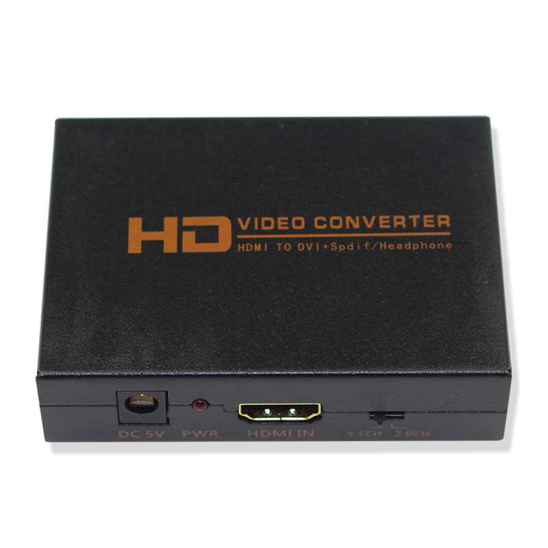 HDMI to DVI Converter Adapter with Optical output and 3.5mm Audio Jack For HDTV Projector PS4 TV BOX переходник aopen hdmi dvi d позолоченные контакты aca311