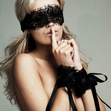 American restraint before bundling flirting fun hand ring goggles fashion Eye mask Fifty Shades of Grey property