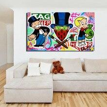 ALEC Monopolies Tag Heuer художественный холст плакат картина маслом настенное изображение, принт современная домашняя спальня украшения аксессуары произведение искусства