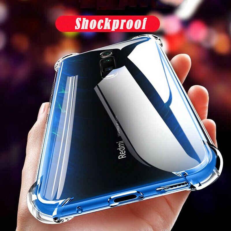 Xiao Mi Merah Mi K20 Pro Kasus Silikon Bening TPU Case Xiao Mi Mi 9 Se 9T Merah Mi 5 Plus 5A 6A 7A Note 7 6 5 4 4X Mi A2 Lite Case Cover