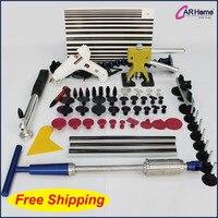 PDR paintless dent repair auto body repair tools kit 63pcs per kit PDR 133