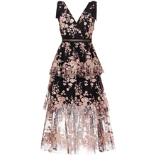 New 2019 flower dress