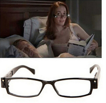 1 0 4 0 Multifunctional Strength LED Reading Glasses Toy Eyeglass Illuminate Spectacle Diopter Magnifier Light