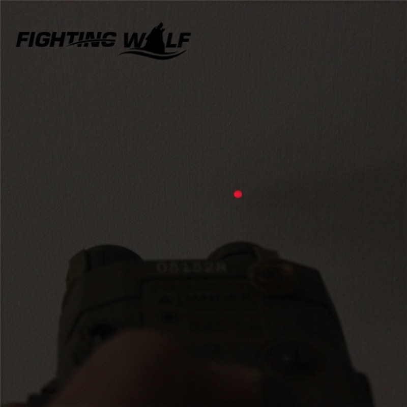 ФОТО Element EX396 LA-5 UHP Battery Case with Red Laser IR Lens LED Flashlight  Hunting  Accessory Airsoft Laser for Shooting Games