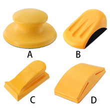 5 Inch  Sand Paper Sanding Block Handheld Belt Sander DIY Abrasive wheel rubber stretch disc New